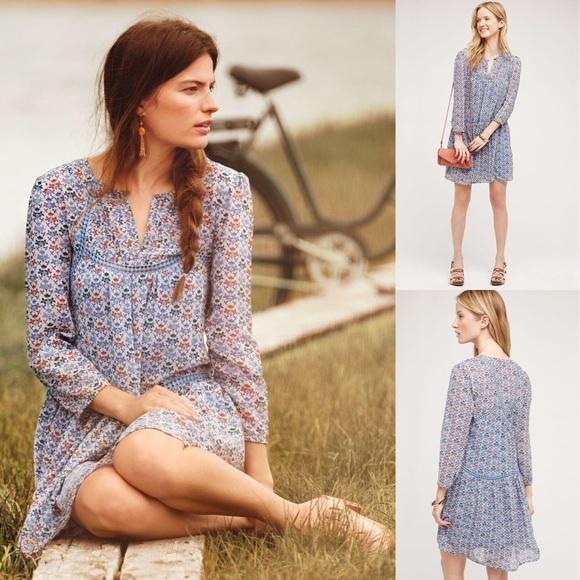 80035f7f8c5e Anthropologie Dresses & Skirts - 🌾Breezy Anthropologie betony swing dress